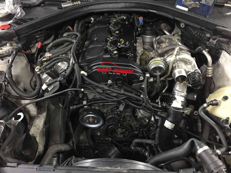 BMW Serie 1 1.6 G-N13B16A 100kw 2013 vista frontal del motor completo