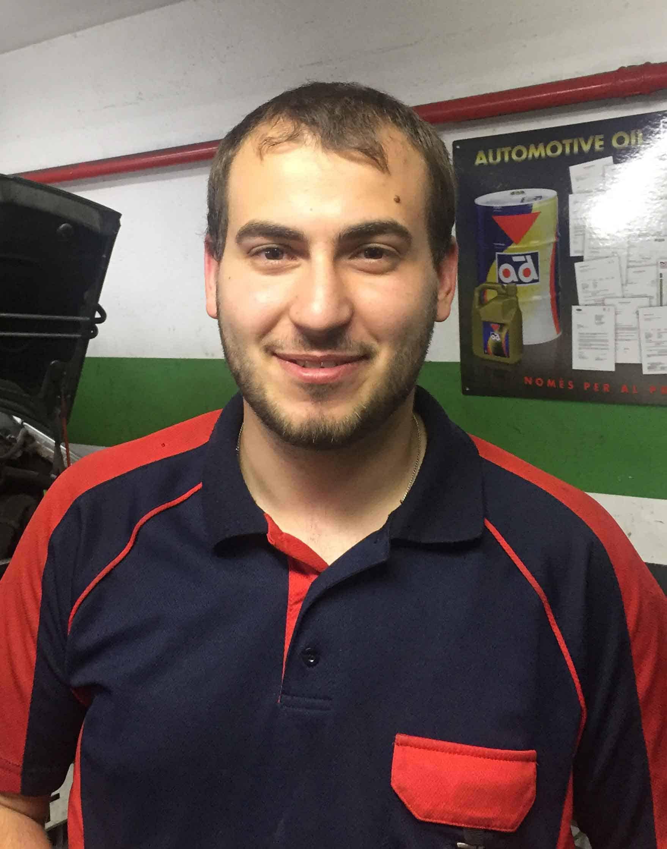 Mecánico Daniel Martín Trenado
